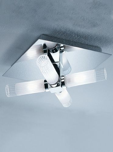 Franklite CF1286 Chrome Ceiling Light
